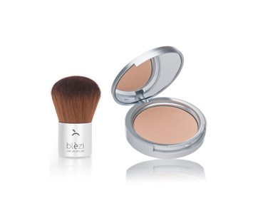 Compact Powder + Kabuki Brush