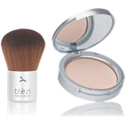 Compact Powder & Kabuki Brush